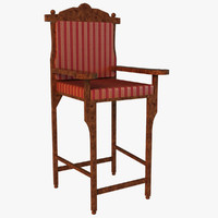 max wooden chair royal style