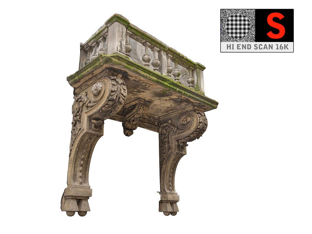 3d model balcony scan 16 k