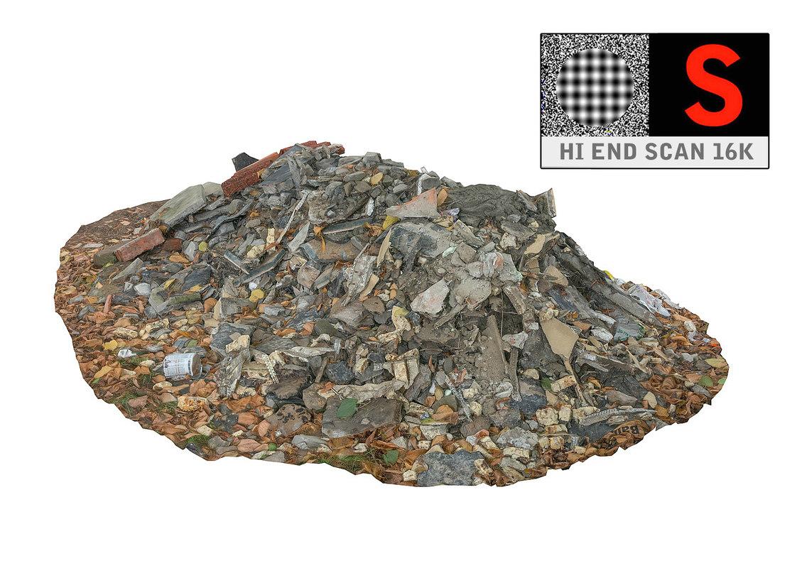 3d model pile 16k