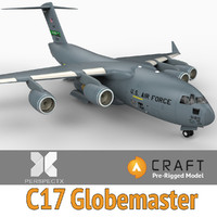 C-17 Globemaster Pre-Rigged for Craft Director Studio