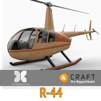 Robinson R44 Pre-Rigged for Craft Director Studio