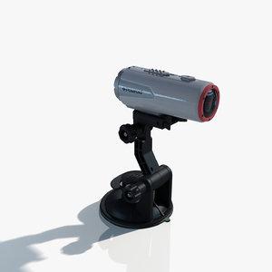 polaroid xs100 camera 3d model