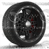 XD Series Diesel Rim and Tyre