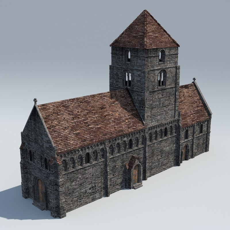 3d chapel medieval