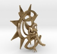 3d model luck sign venus