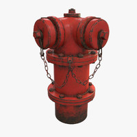3d chicago hydrant model