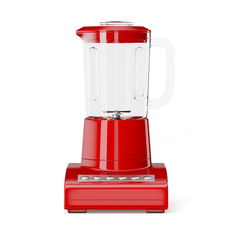max classic red countertop blender