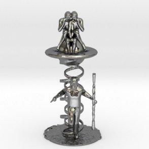 3d luck mercury model