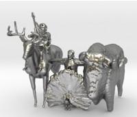 spirits jupiter 3d model
