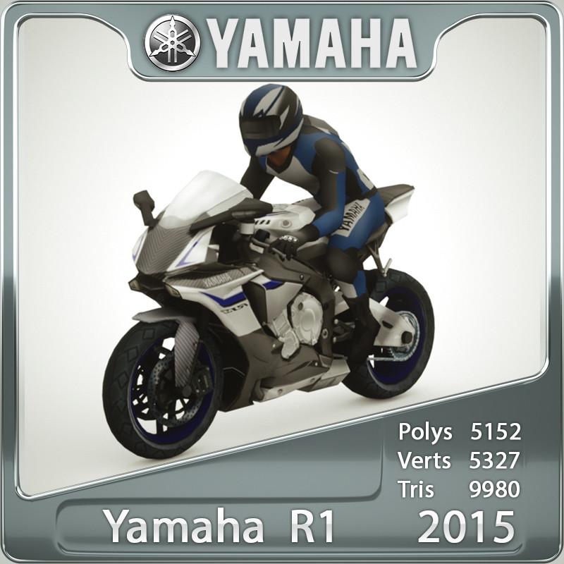 3d max yamaha r1