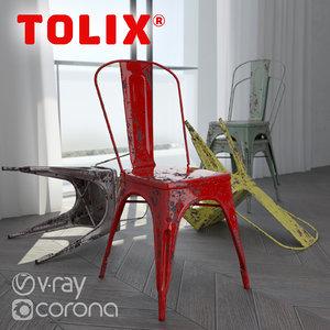 3d model corona chair