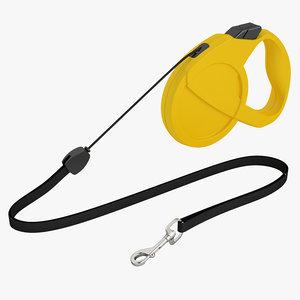 3d dog leash model