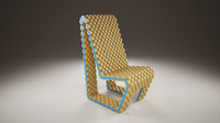 3ds max cork chair