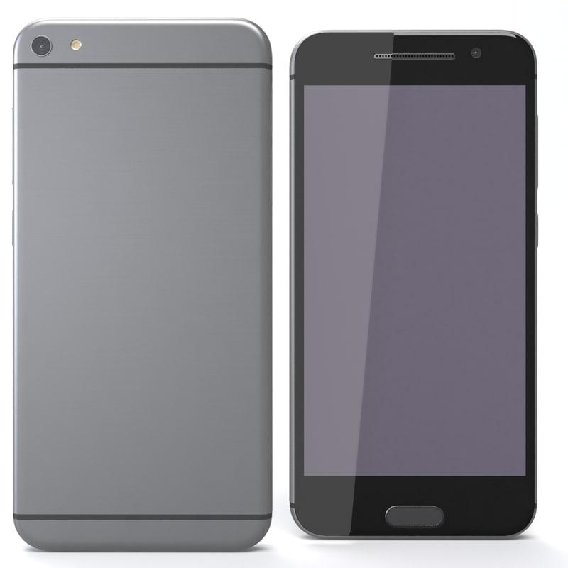 3ds max generic phone 3