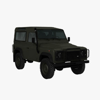 3d military defender 2015 model