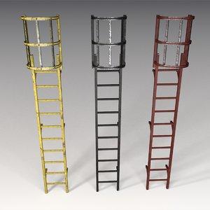 3dsmax ladder v-ray