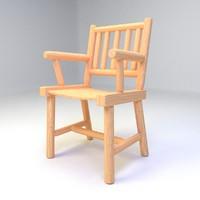 3d keene valley dining chair