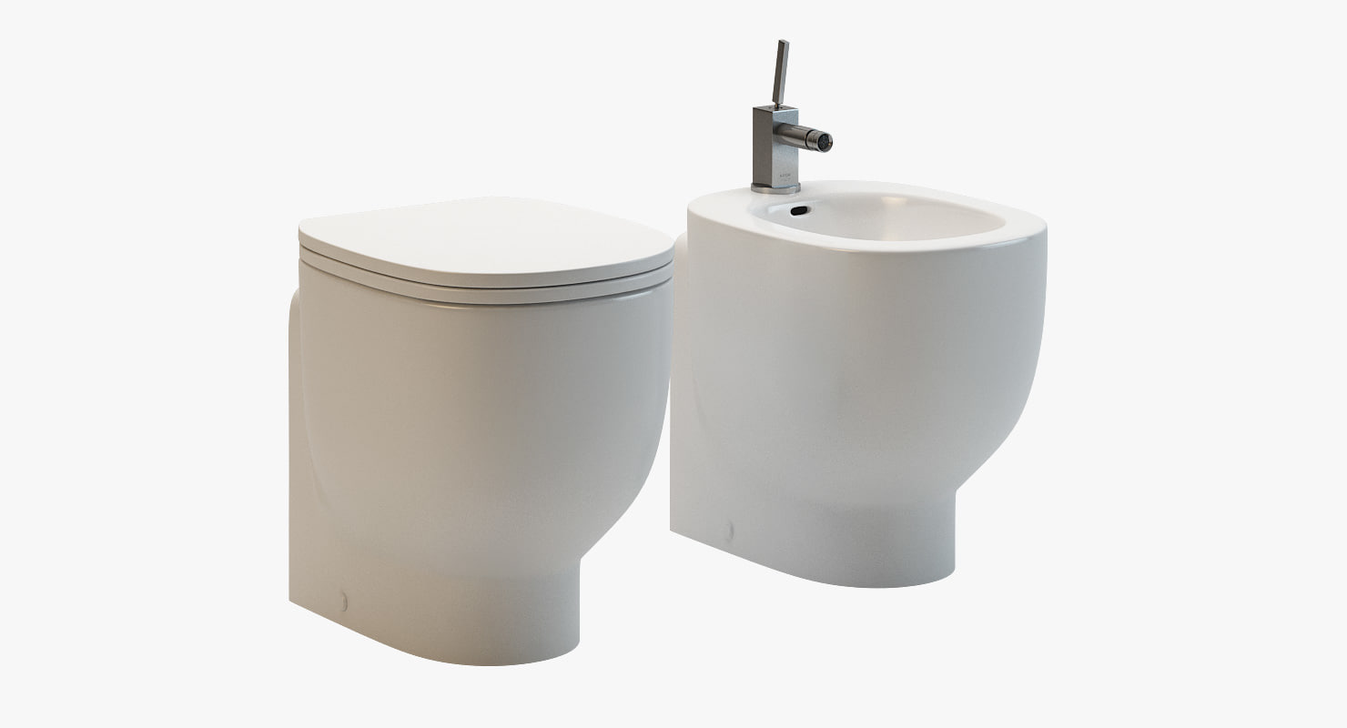 3d model pozzi ginori bathroom fixtures