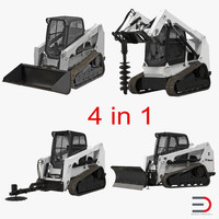 compact tracked loaders 3ds