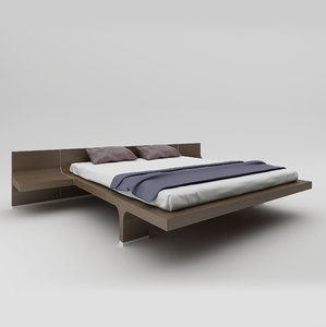 bernini bed 3d model
