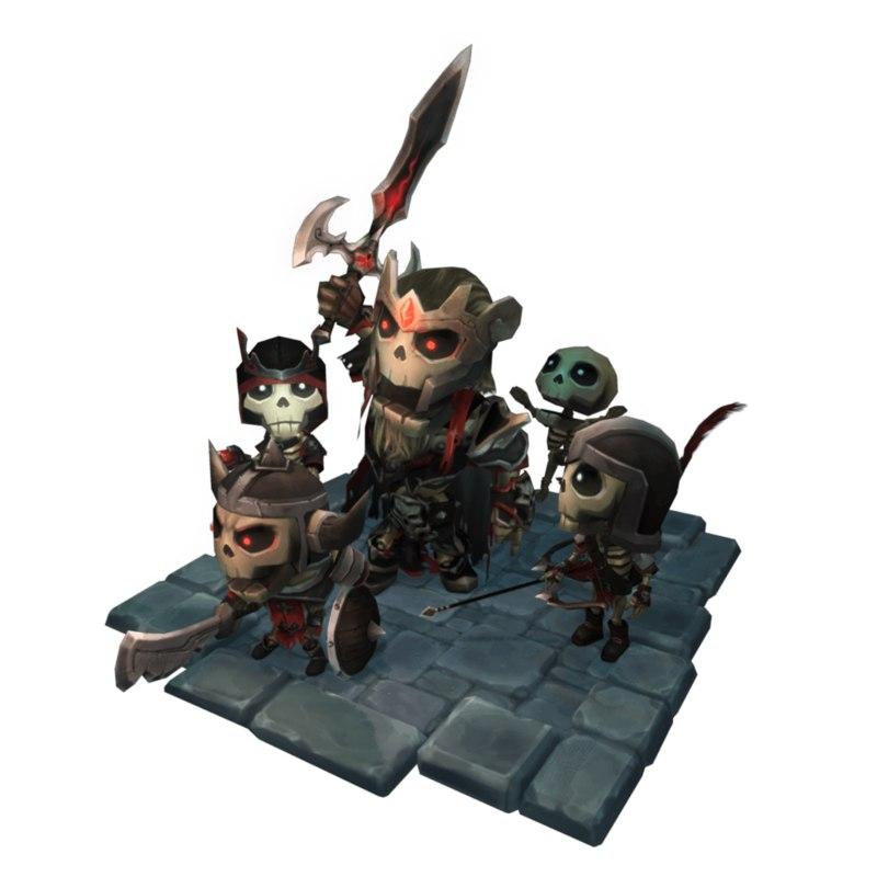 pack king archer 3d 3ds