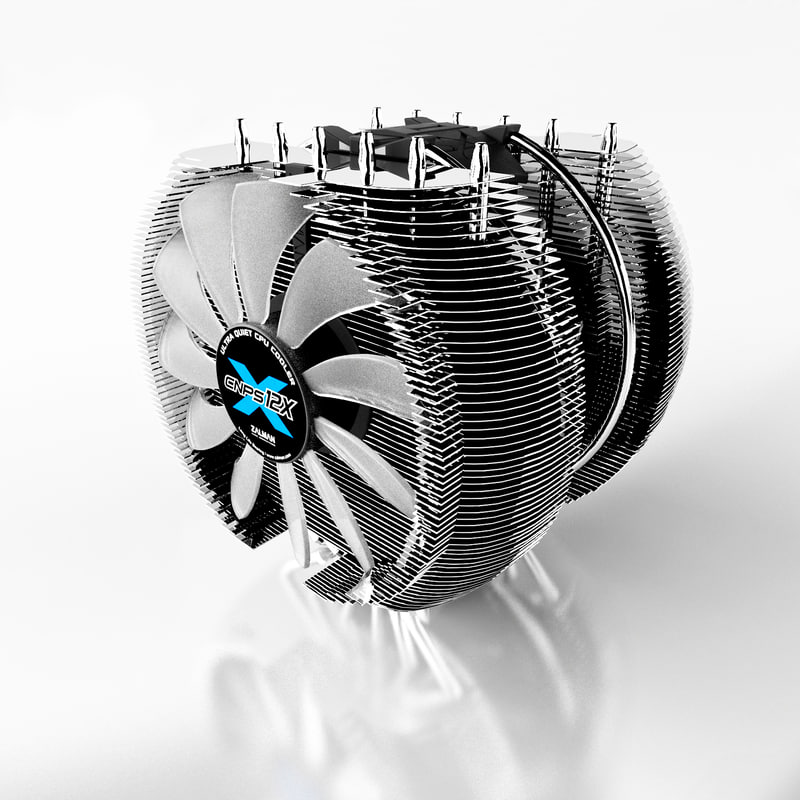 3ds max cpu cooler cnps12x
