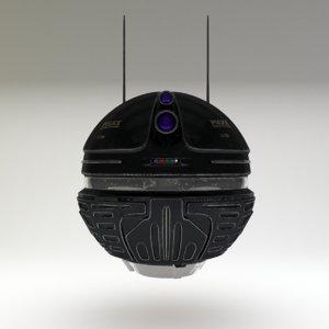 police probe 3d model