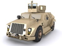 3d combat tactical vehicle model