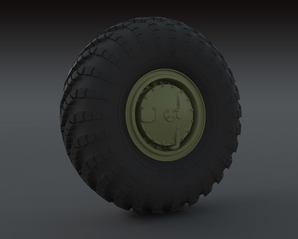 3d wheel tire i-159 -159