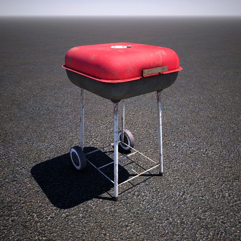 obj charcoal grill