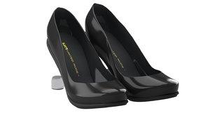 3d model women shoes united nud