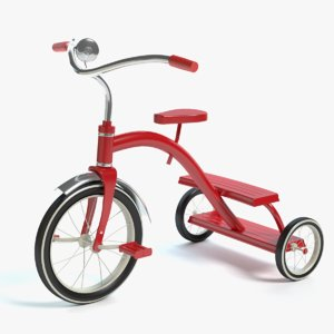 3dsmax tricycle tri cycle