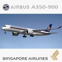 A350 900 XWB Singapore