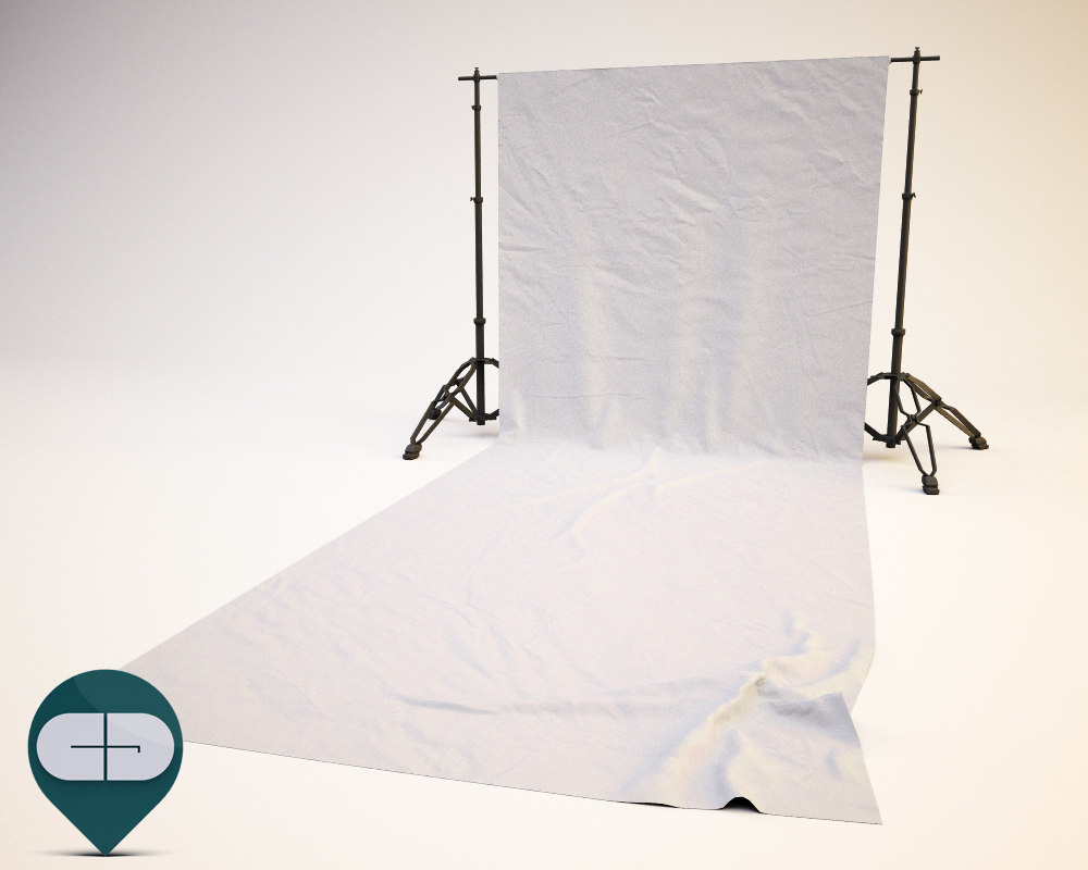 3ds max sheet softbox