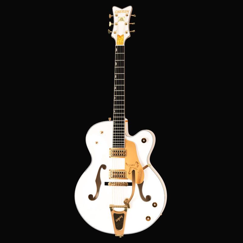 gretsch white falcon guitar max