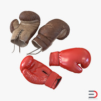 Boxing Gloves 3D Models Collection