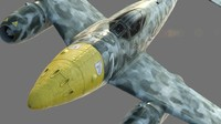 Me 262 A-2b German Fighter