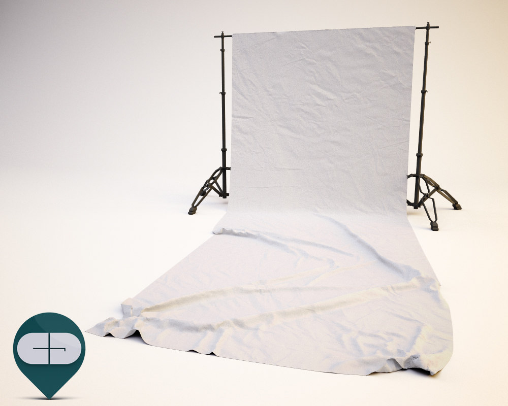 3d model sheet softbox