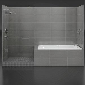 bathroom bath faucet 3d 3ds