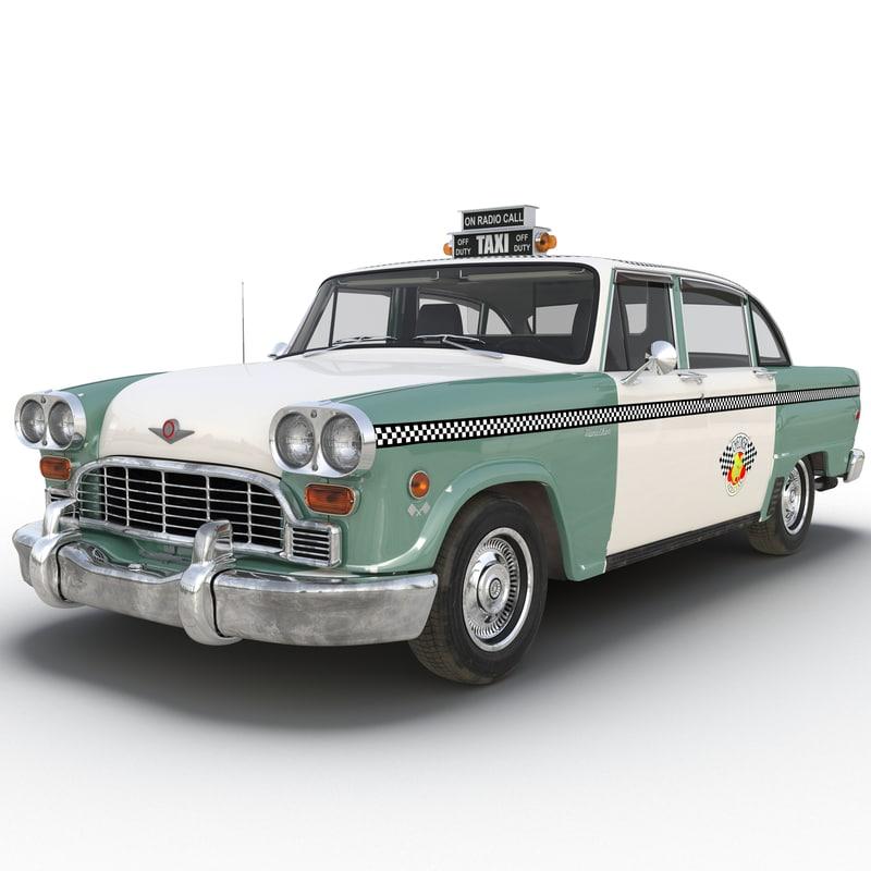 checker taxicab 1982 3d ma