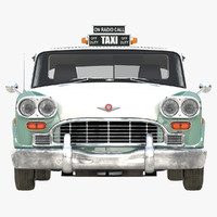 3ds max checker taxicab 1982 simple
