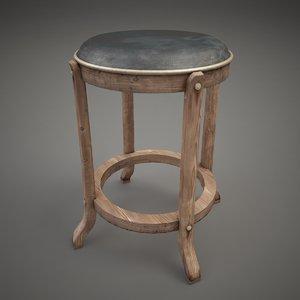 chair steampunk obj
