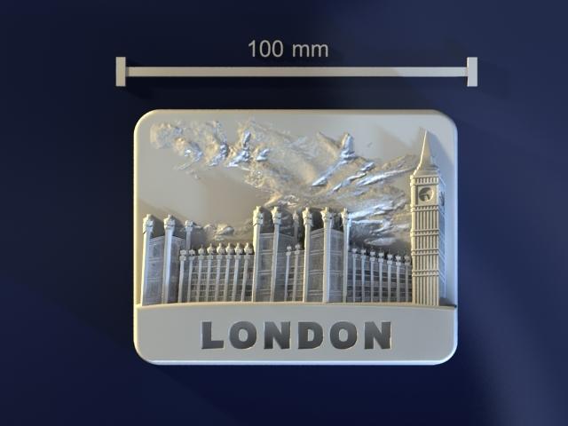 3d model of london mold hand