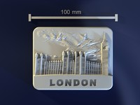 3d model of london mold hand