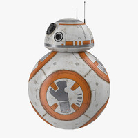 BB-8 Star Wars Rigged