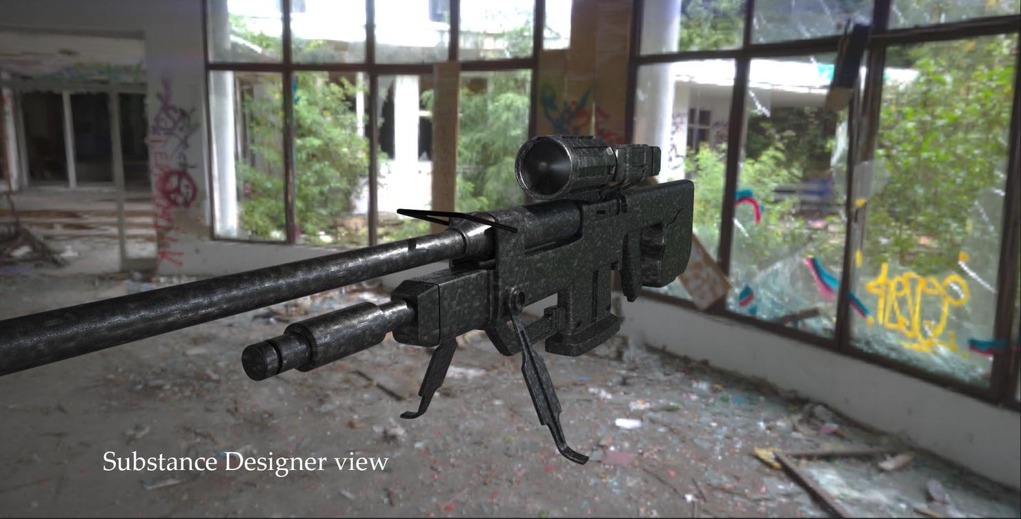 max sniper rifle halo