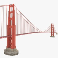 Golden gate bridge for game