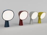 3d binic lamp