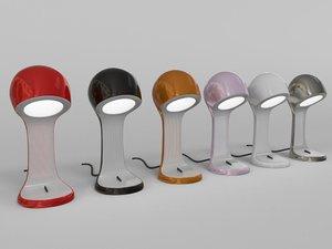 clea lamp 3d max