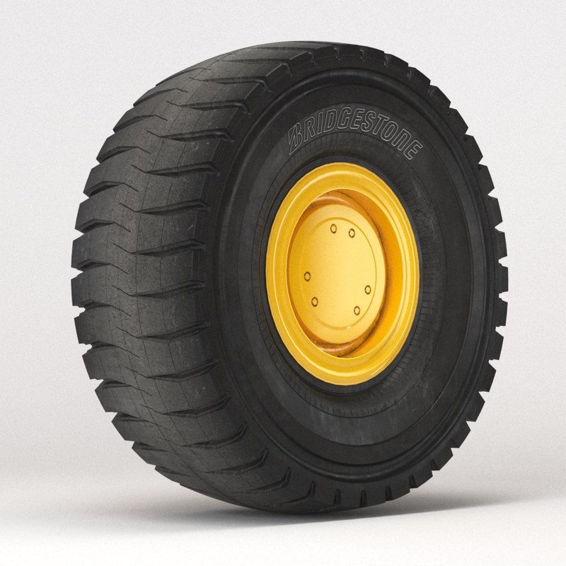 tire bridgestone vprs 3d model